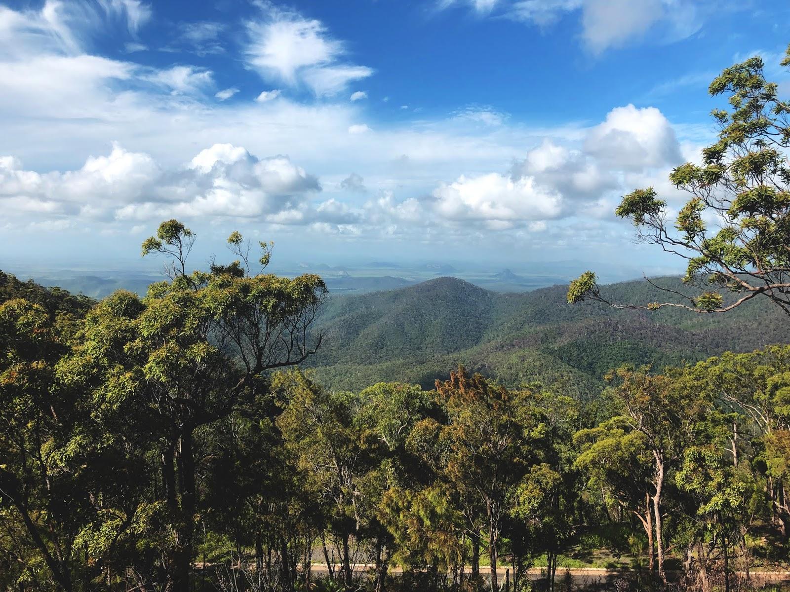 Rockhampton lookout, Mount Archer National Park