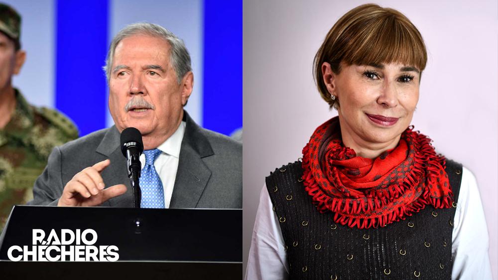 Exministro de Defensa Botero y Alicia Arango, ahora embajadores