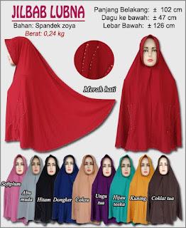 Jilbab Syar'i jumbo model terbaru yang cantik dan anggun-lubna