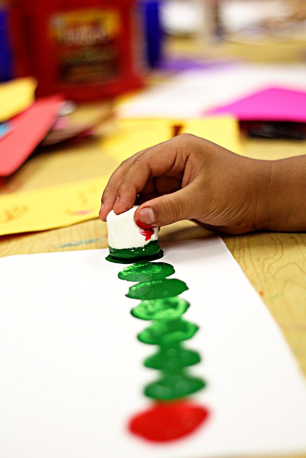 Smart Class Marshmallow Caterpillars And Emergent Curriculum