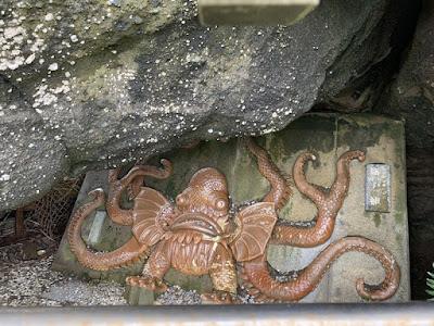 野島崎 伝説の岩屋