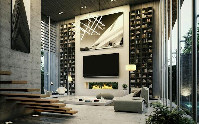 luxury house interior