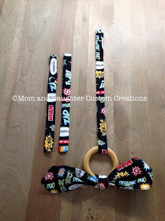 toy and pacifier strap
