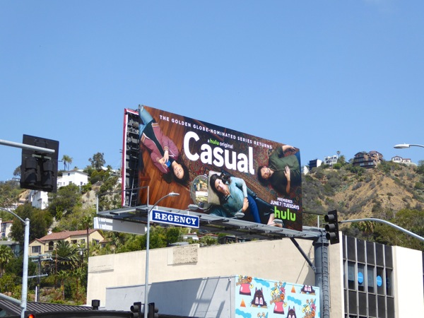 Casual season 2 Hulu billboard