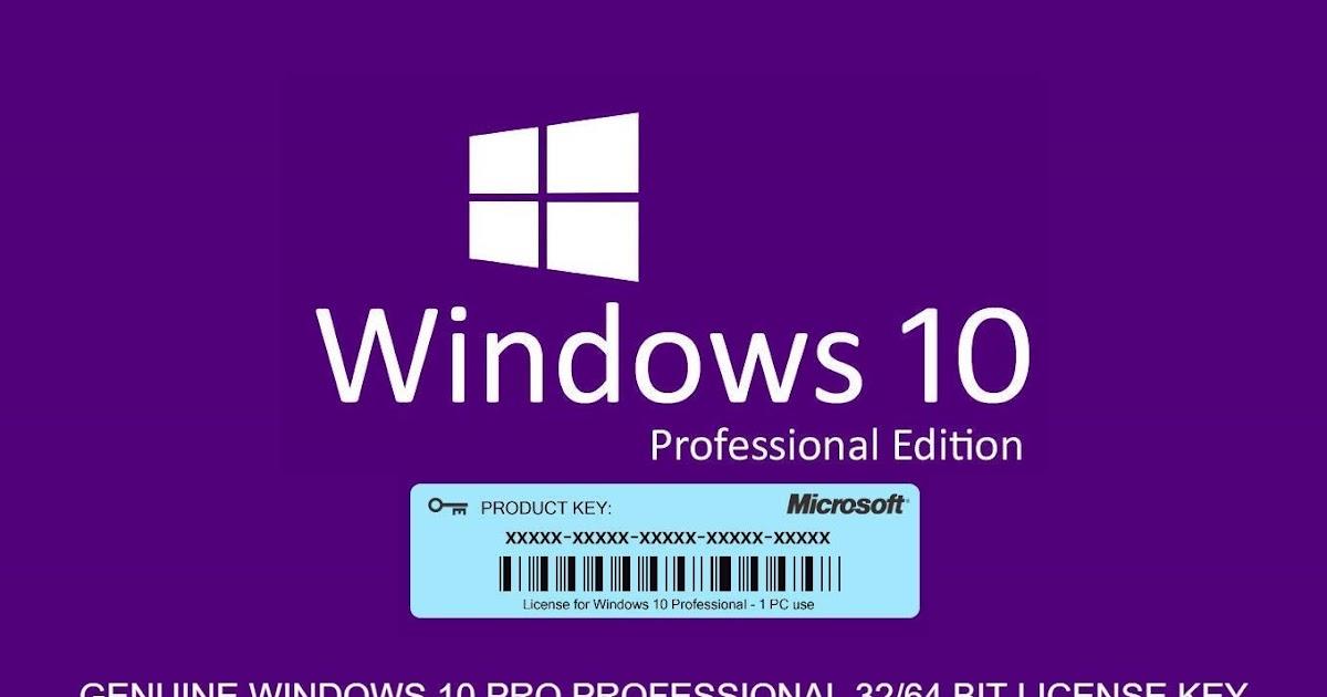 Windows10 Pro activation product key (EDU+ENT)