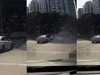 """Video: Mobil """"Hantu"""" Mendadak Muncul Bikin Tabrakan"""