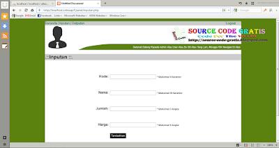 Download Gratis Source Code PHP Aplikasi Pendataan Berbasis Web Dinamis