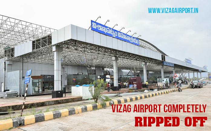 VIZAG AIRPORT RIPPED OFF PHOTOS OCT 18, 2014