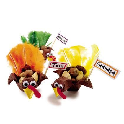 Turkey Nut Holder Craft