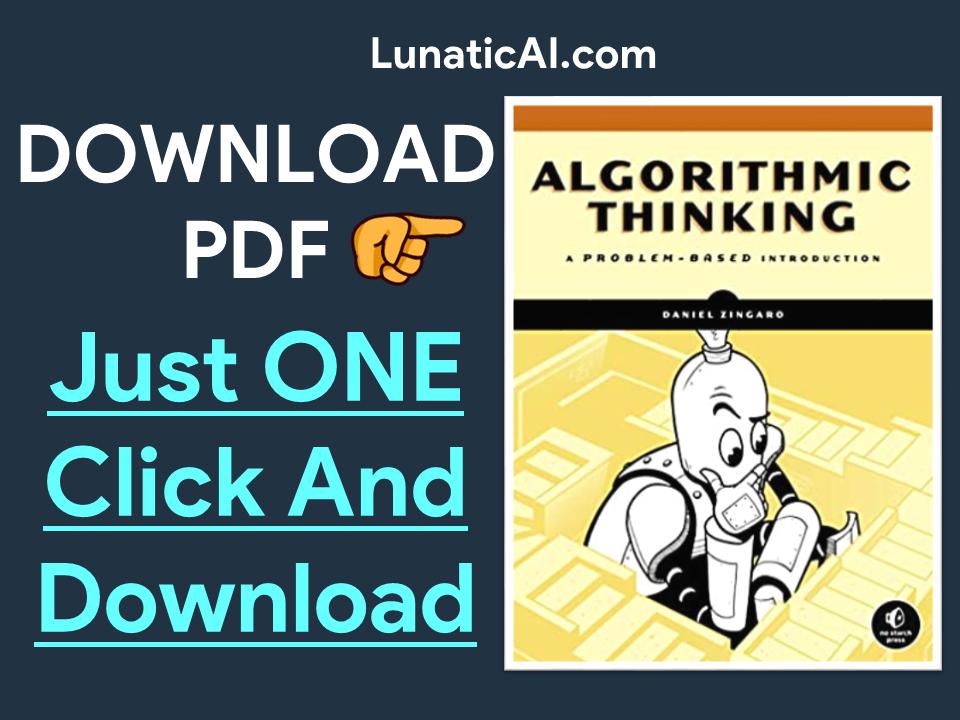 Algorithmic Thinking A Problem-Based Introduction PDF Github