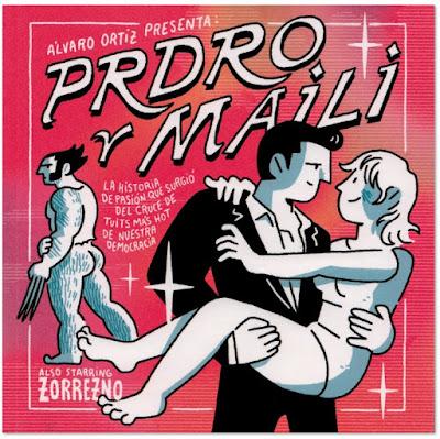 PRDRO Y MAILI de Álvaro Ortiz, edita Astiberri