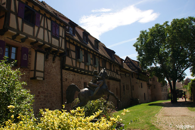 Prima cinta muraria del villaggio di Riquewihr
