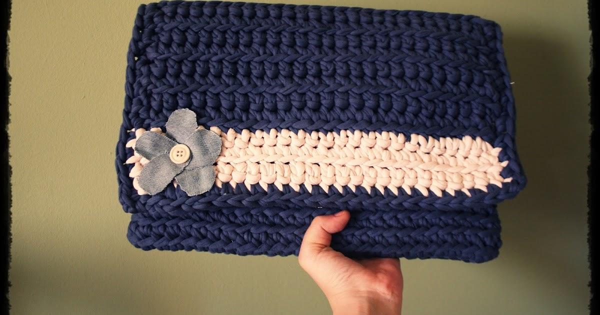 original bolso carpeta de trapillo noctambulando en el On trapillo original