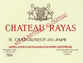 Vin Rare Rayas Fonsalette Pignan Parisi Tours Domaine Château