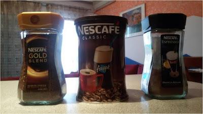 Στιγμιαίοι καφέδες.