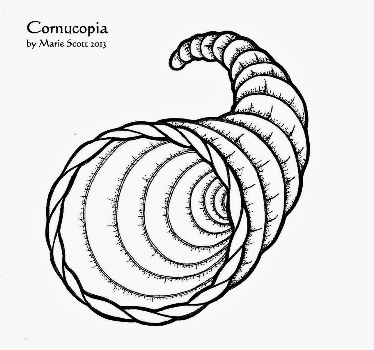 Serendipity Hollow Cornucopia Craft For Kids