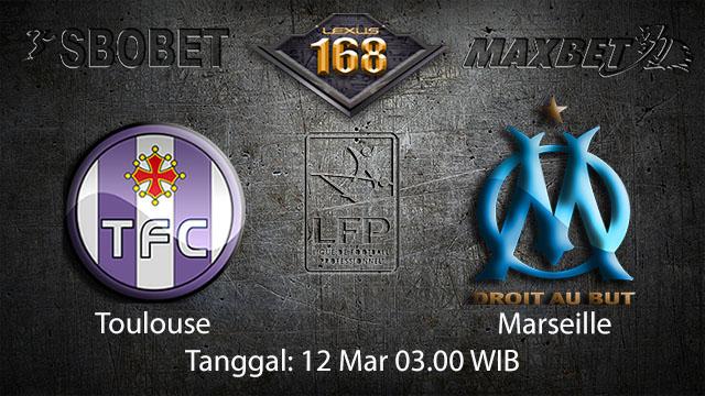BOLA88 - PREDIKSI TARUHAN BOLA TOULOUSE VS MARSEILLE 12 MARET 2018 ( FRENCH LIGUE 1 )