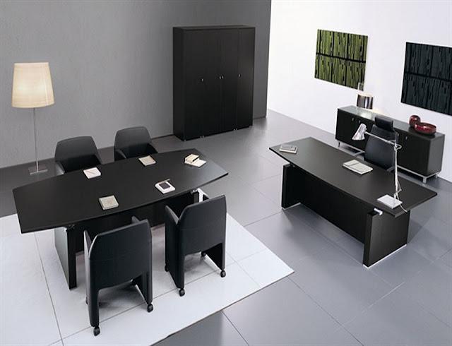 best buying modern office furniture black sets for sale online