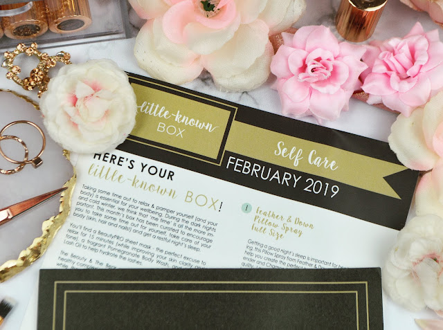 February 2019 Little Known Box - The Self Care Edit Review, Lovelaughslipstick Blog