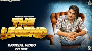 The Legend Lyrics - Amit Saini Rohtakiya | Sara Singh | New Haryanvi Song Haryanvi 2021
