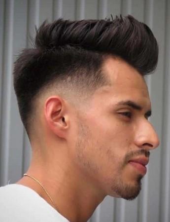 gaya rambut undercut medium indonesia tampak belakang
