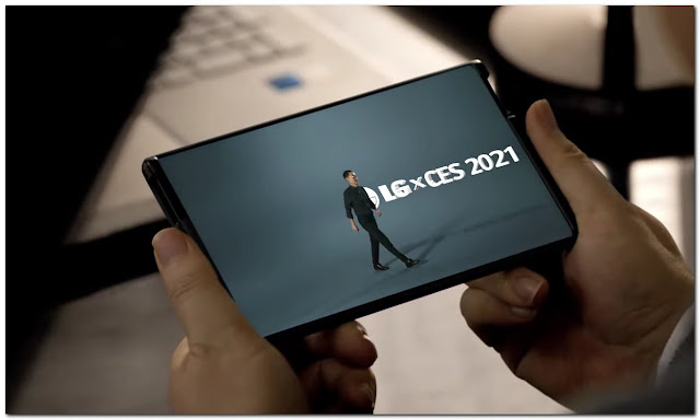 LG Rollable CES 2021