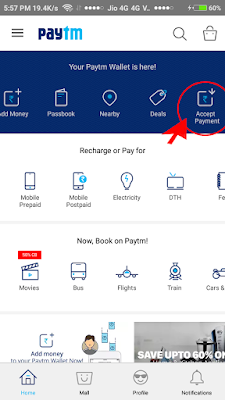 Accept%2BMoney - How to Receive or Accept Money using PayTM?