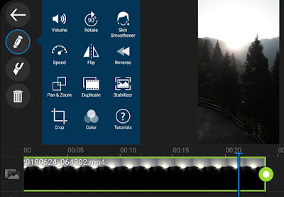 Stabilize video using PowerDirector