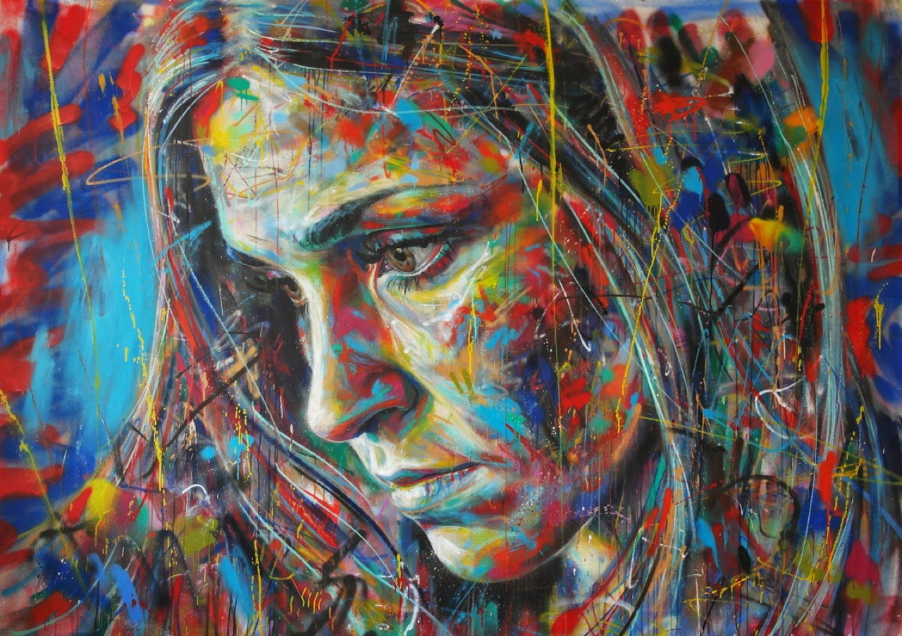 How To Paint A Mural On A Wall Preview David Walker Quot Swapping Souls With Strangers