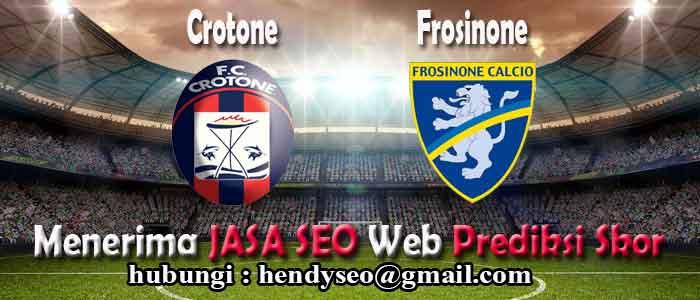prediksi skor crotone vs frosinone