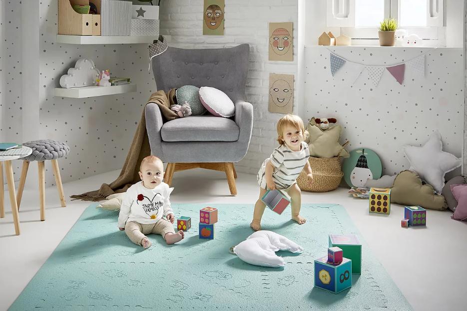 suelo acolchado para bebés lu babymats