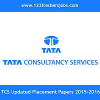 TCS Latest Placement Papers 2016