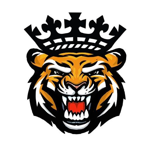 design logo t shirt tiger head