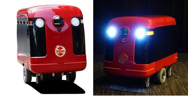 Robot kurir CarriRo Delivery