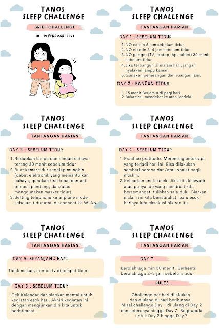 Tanos Sleep Challenge