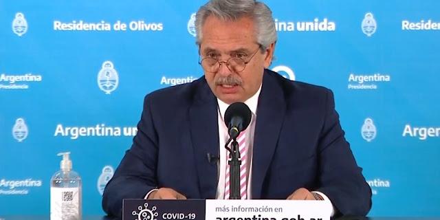 presidente argentino, Alberto Fernández