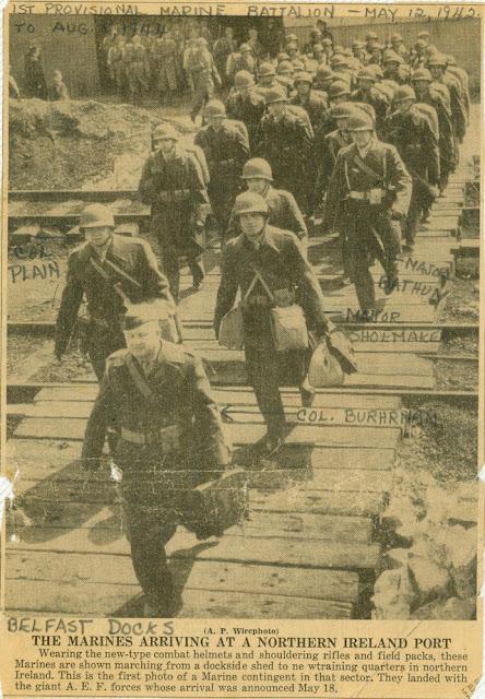 US Marines in Ireland 12 May 1942 worldwartwo.filminspector.com