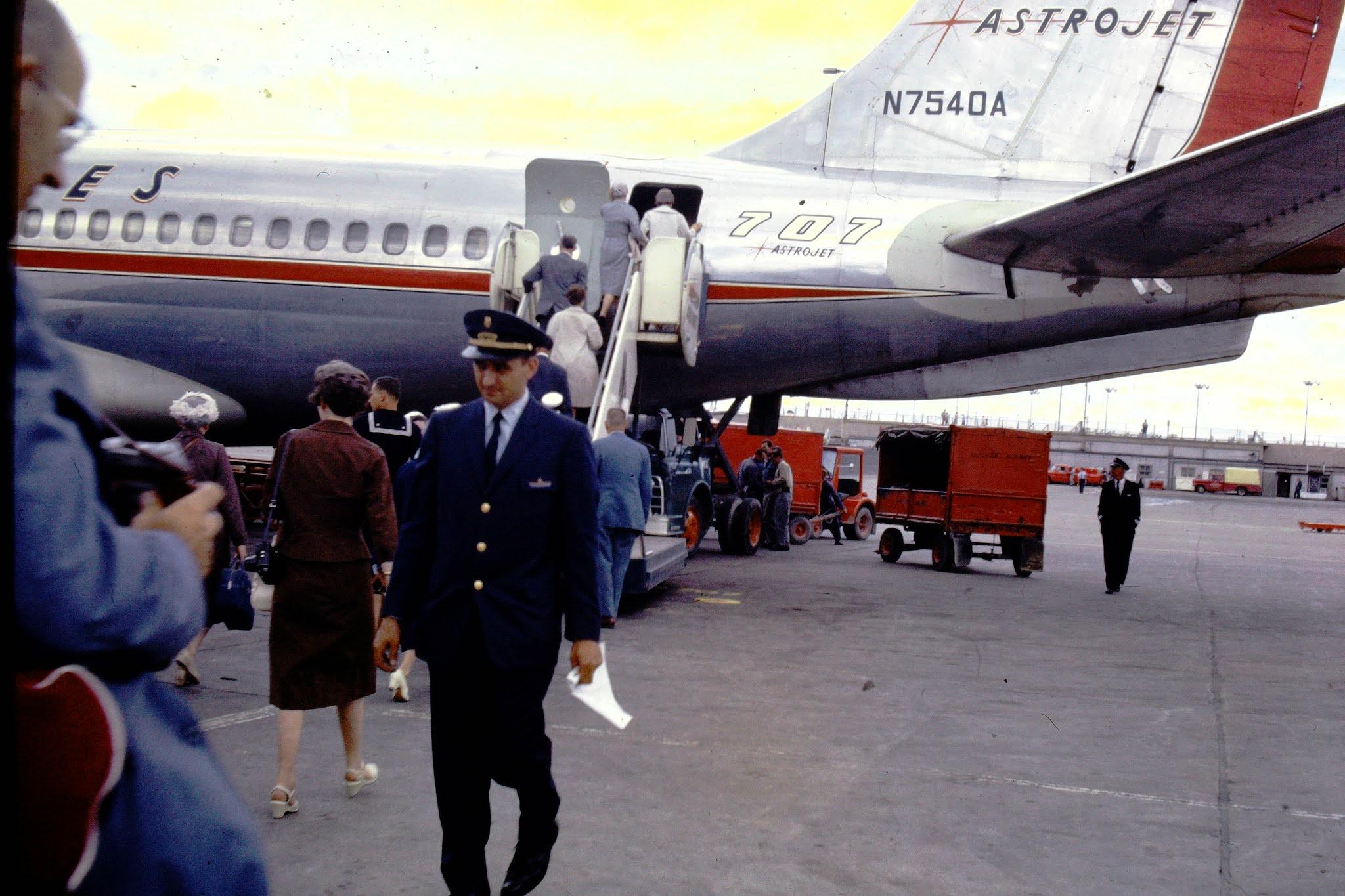Chicago Airport - Astro Jet - 1961