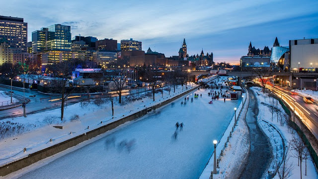Rideau Canal em Ottawa