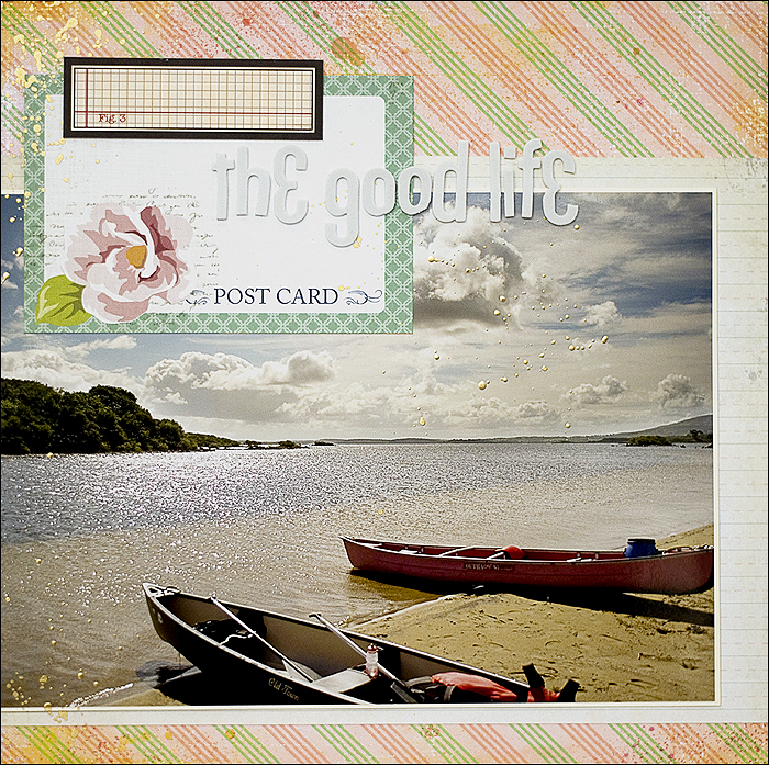 Scrapbooking Layout - Irland