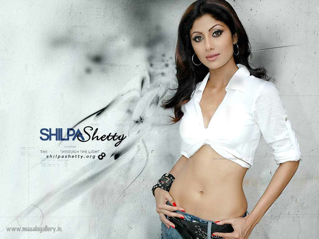 Shilpa Shetty Hot Wallpapers - Masala Gallery-4135
