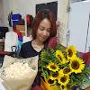 Kreasi Buket Mawar dan Matahari
