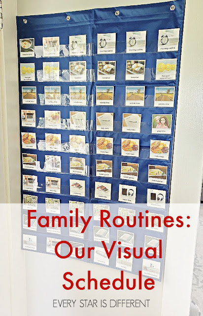 Family Routines: Our Visual Schedule