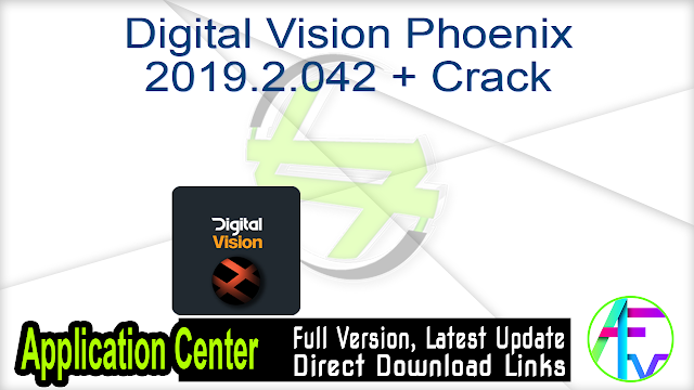 Digital Vision Phoenix 2019.2.042 + Crack