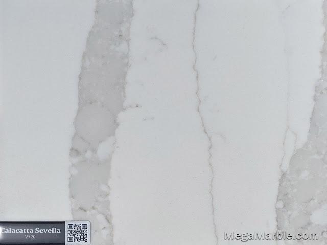 Quartz Stone Color calacatta sevella v720