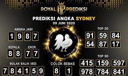 Prediksi Togel Sydney Selasa 09 Juni 2020 - Royal Prediksi