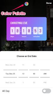 cara menambahkan stiker countdown pada story Instagram-gambar 5