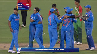 Rohit Sharma 137 - India vs Bangladesh Highlights - 2nd Quarter-Final - ICC Cricket World Cup 2015