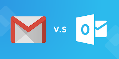 Gmail and Outlook 365