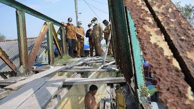 Tahun Ini, Pemkab Sergai Perbaiki Jembatan Rusak Parah di Pantai Sialang Buah